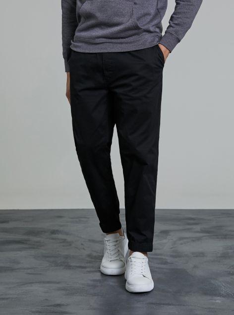 Pantaloni classici con elastico