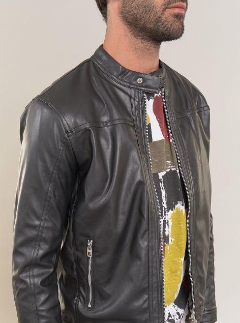 Giubbotto Bomber con zip