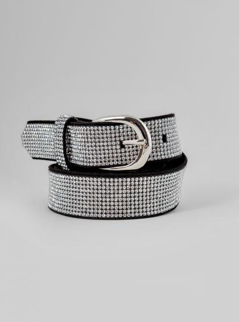 Cintura con strass
