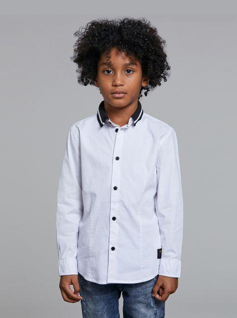 Camicia colletto black
