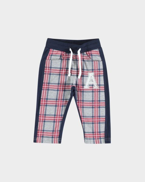 Pantaloni con stampa scozzese