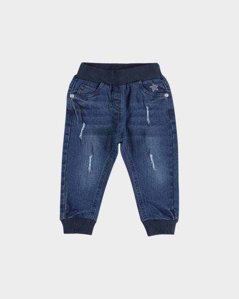 Jeans con elastico