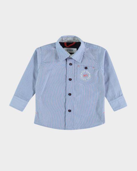 Camicia con bottoni a contrasto