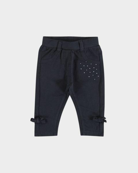 Panta-leggins con fiocco laterale