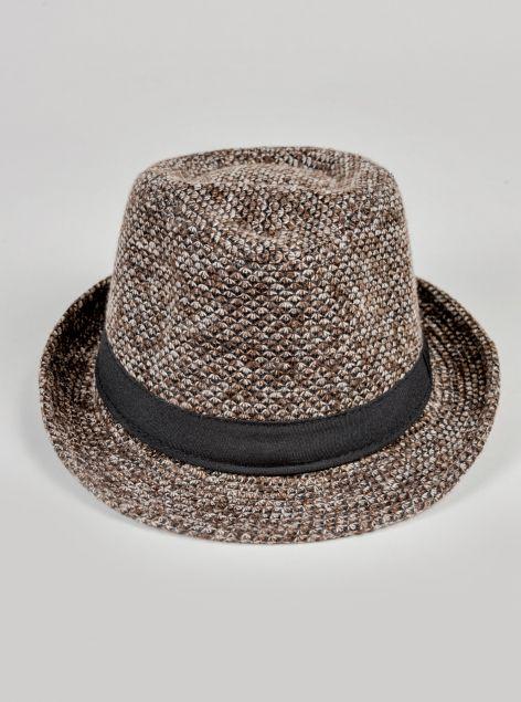 Cappello bombetta con fascia