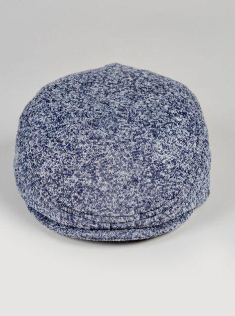 Cappello in tessuto melangiato