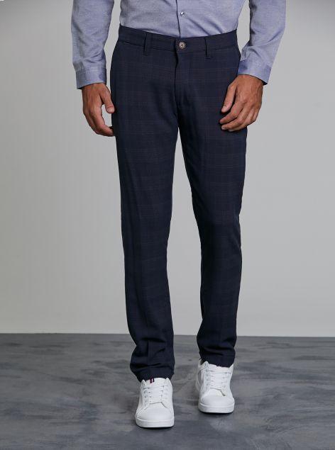 Pantaloni check classic