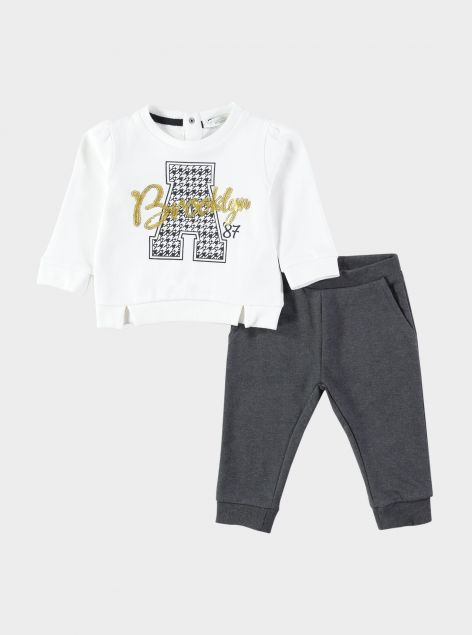 2Pack Felpa e Pantalone con elastico