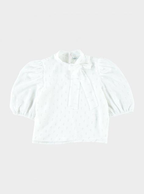 Camicia con rouche