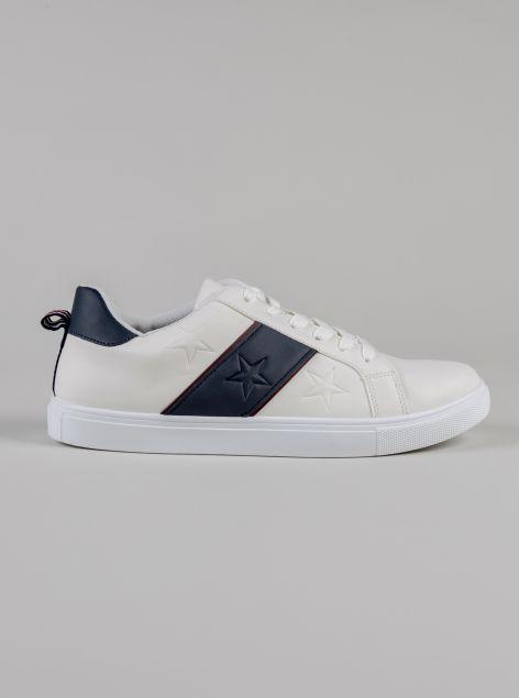 Sneakers da passeggio con lacci