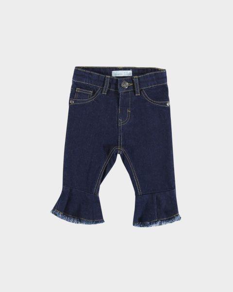 Jeans con volant