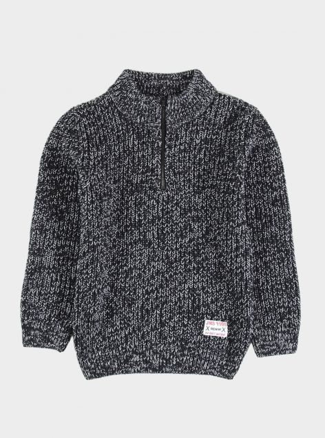 Pullover con zip