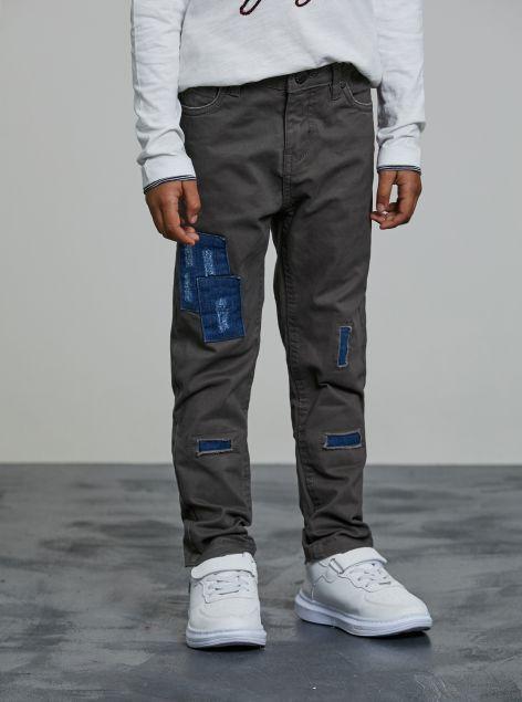 Pantaloni con toppe