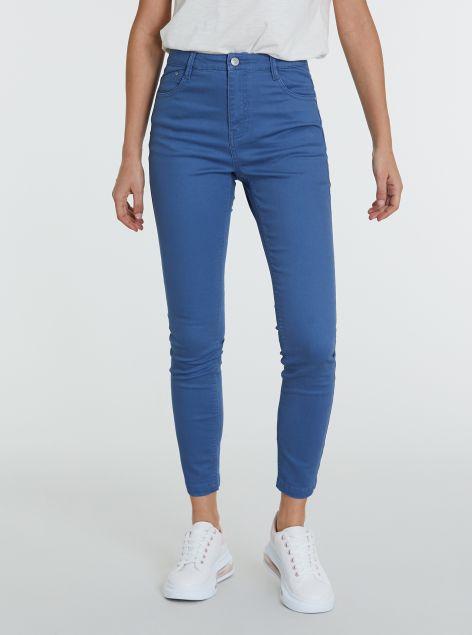 Pantaloni basic a vita alta