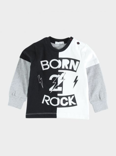 T-Shirt Born Rock