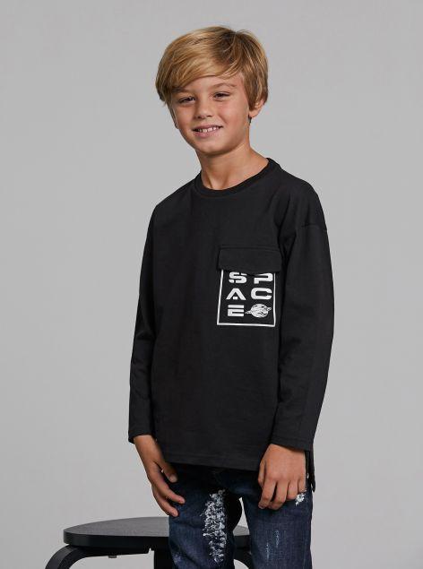T-Shirt Space con taschino