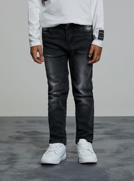 Jeans effetto sbiadito