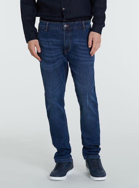 Jeans modello chino 5 tasche