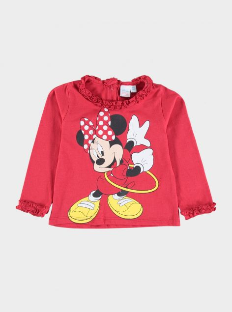 T-Shirt con rouche by Minnie