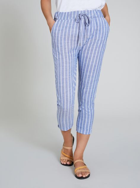 Pantaloni skinny in cotone