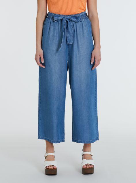 Pantaloni in lyocell