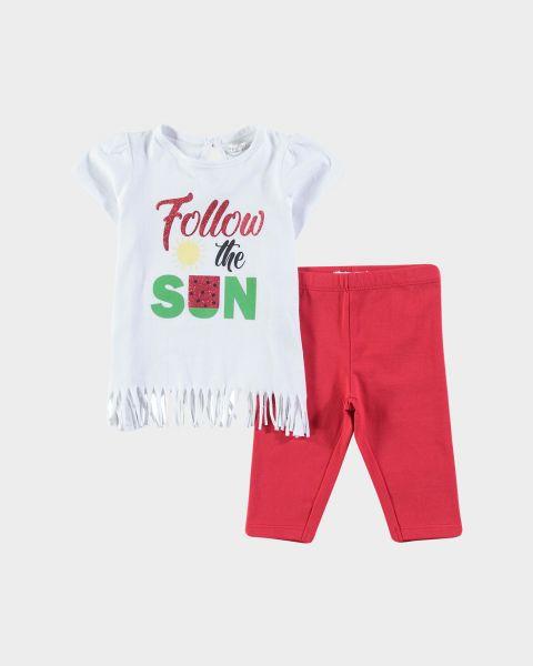 Completo t-shirt e leggins