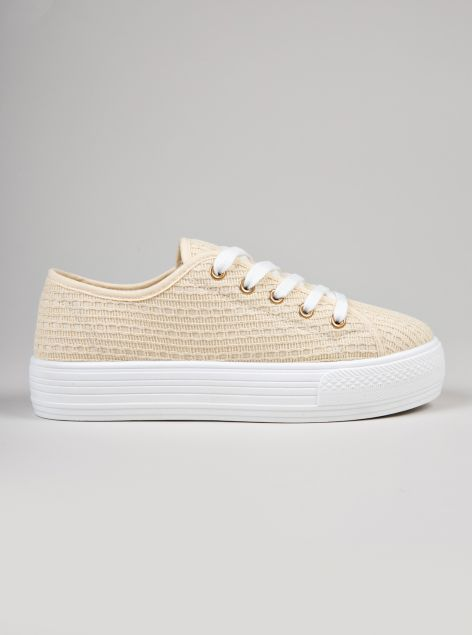 Sneaker tessuto jacquard