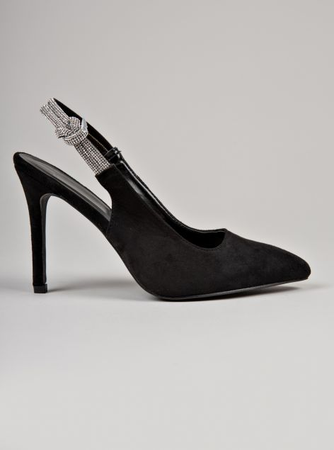 Decolleté slingback
