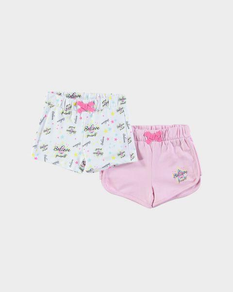 2Pack Shorts con elastico