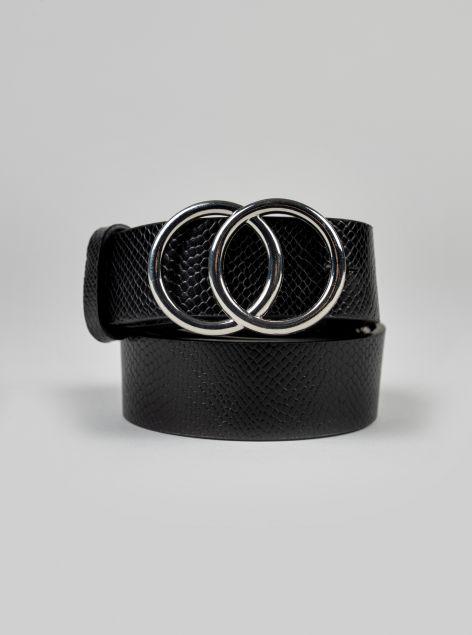 Cintura fibbia circolare