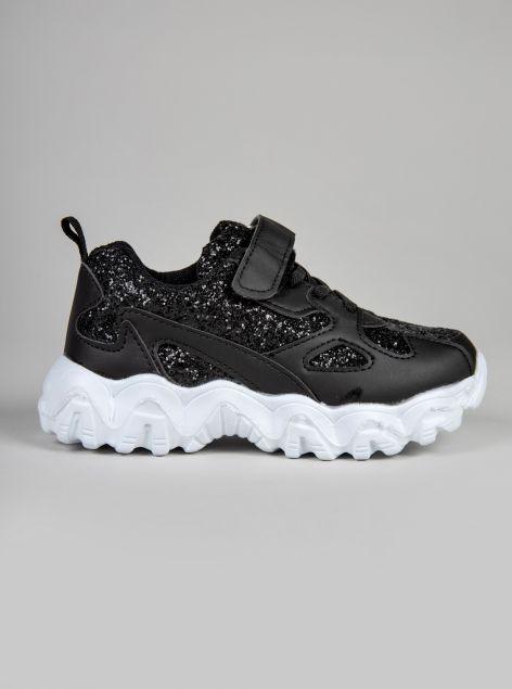 Sneaker brillantinata