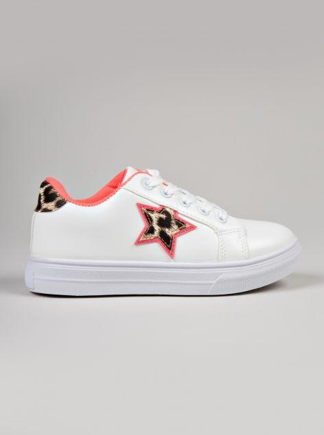 Sneaker con stellina
