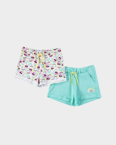 2Pack Shorts con stampe