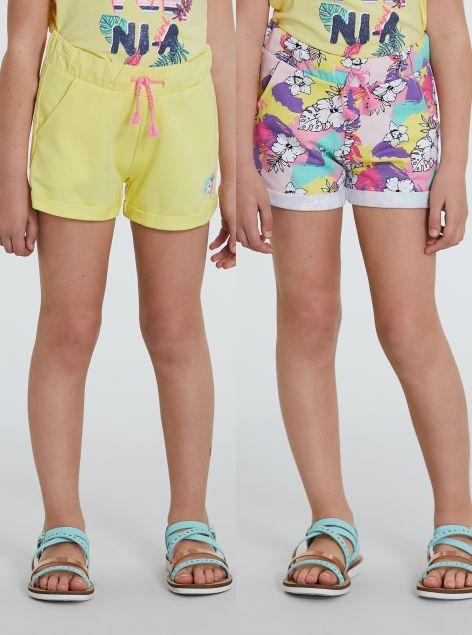 2Pack Shorts bambina