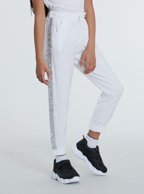 Pantaloni tessuto morbido