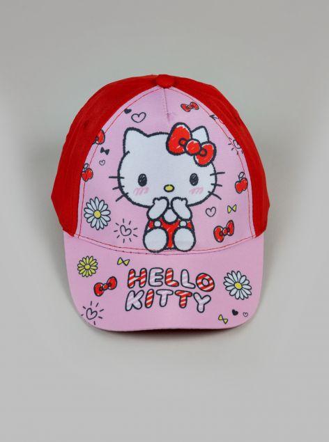 Cappello con visiera Hello Kitty