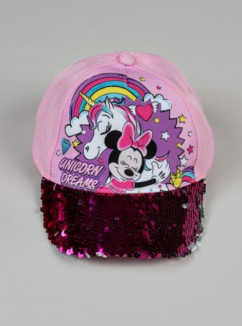 Cappello con paillettes Minnie
