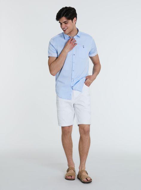 Camicia mezza manica regular-fit