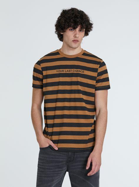 T-Shirt con righe