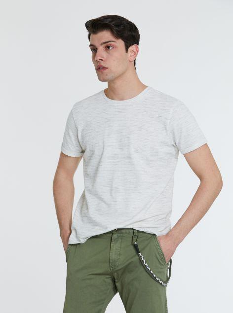 T-Shirt con risvoltini