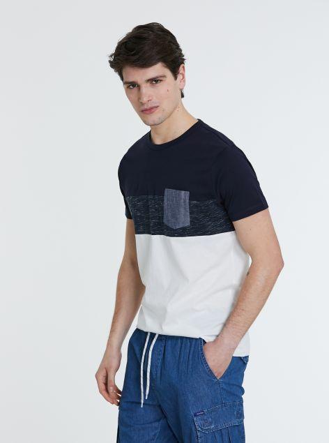 T-Shirt a constrasto