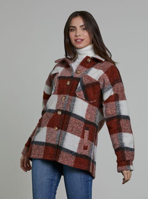 Giacca misto lana