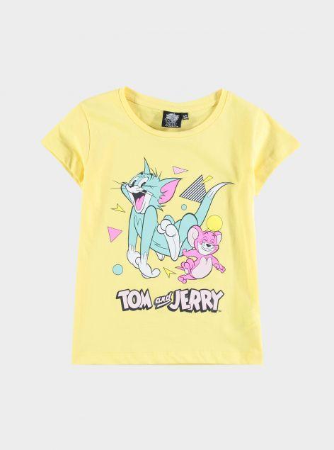 T-Shirt con stampe Cartoni
