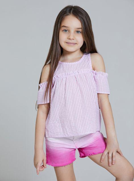 Camicia Fantasia Vichy