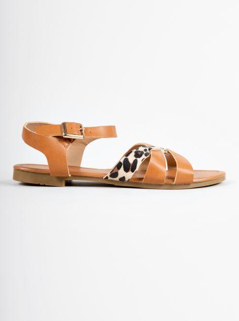 Sandalo animalier