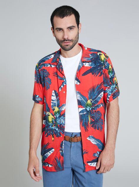 Camicia in tessuto morbido Havana