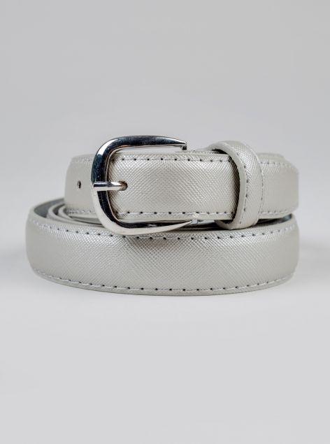 Cintura con fibbia argento