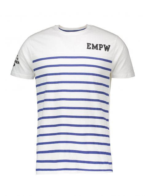 T-Shirt stampa a righe