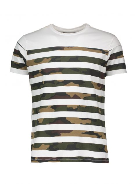 T-Shirt stampa camouflage