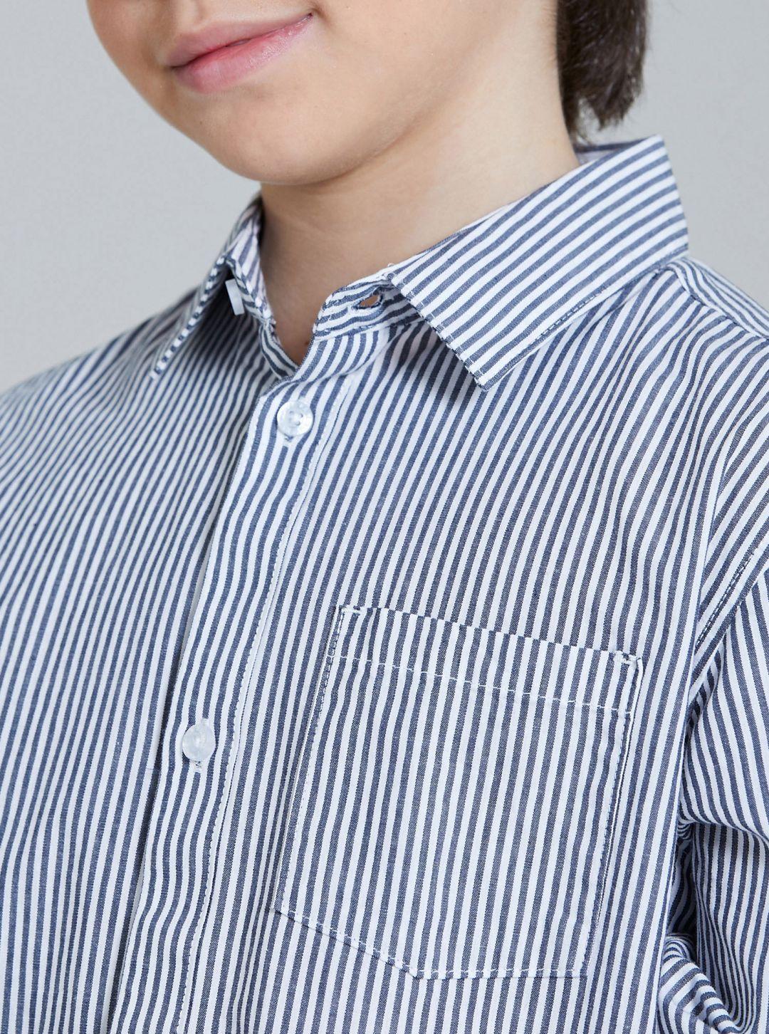Camicia basic con taschino